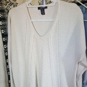 Cute Tan Knit Sweater